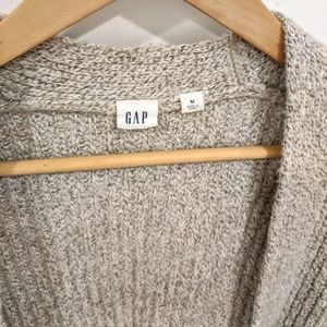 GAP Sweaters - 🍪Gap Long Open Front Marled Knit Cardigan Shrug